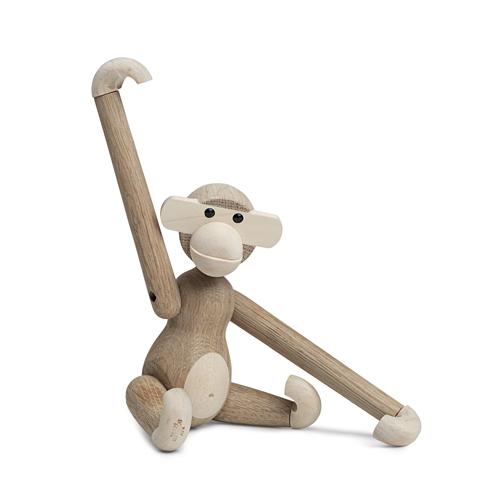 【最大1000円OFFクーポン マラソン最大33倍 04/16(火) 01:59まで】Kay Bojesen Denmark(カイ・ボイスン デンマーク)「Monkey(モンキー)」Sサイズ オーク/メープル