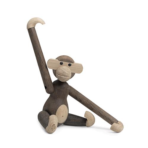 【お買い物マラソンで最大ポイント32倍!8/4(土)20時~】Kay Bojesen Denmark(カイ・ボイスン デンマーク)「Monkey(モンキー)」Sサイズ スモークドオーク/オーク