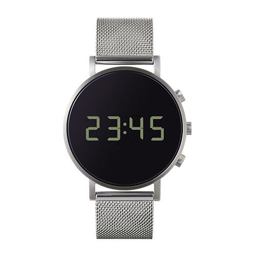 【最大1000円OFFクーポン】normal(ノーマル)腕時計 tokiji(トキジ)O38シルバーケース×ブラックメッシュ