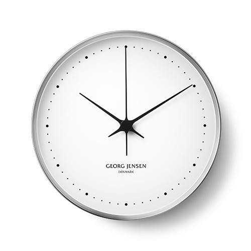 【限定クーポン!最大1000円OFF】【ポイント10倍!】Georg Jensen(ジョージ ジェンセン)掛時計HK(エイチケー)ウォールクロック 30cm