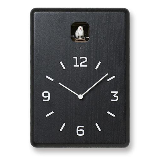 【楽天スーパーセール開催中!ポイント最大34倍|03/11 01:59まで】Lemnos(レムノス)置掛兼用時計 CUCU(クク) ブラック