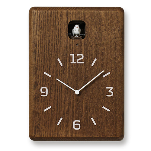 【楽天スーパーセール開催中!ポイント最大34倍|03/11 01:59まで】Lemnos(レムノス)置掛兼用時計 CUCU(クク) ダークブラウン