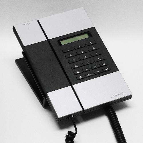 【最大1000円OFFクーポン|マラソン最大33倍 04/16(火) 01:59まで】JACOB JENSEN(ヤコブ・イェンセン)「T-3 Telephone」電話機