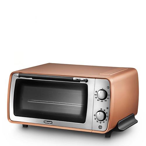 【スマホエントリーでポイント最大23倍!7/8(日)9:59まで】DeLonghi(デロンギ)Distinta collection 「オーブン&トースター EOI407J-CP」 スタイルコッパー