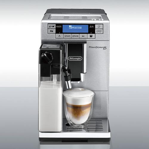 【ポイント2倍!】DeLonghi(デロンギ)コンパクト全自動コーヒーマシン「プリマドンナXS」[878ETAM36365MB]