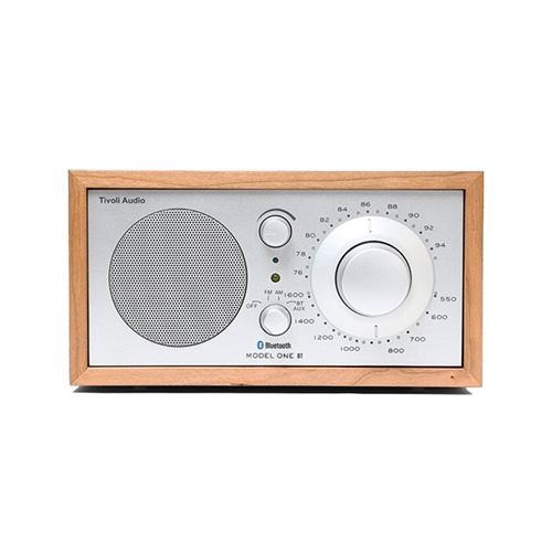 【ポイント5倍!】Tivoli Audio(チボリ・オーディオ)「Model One BT 」チェリー/シルバー