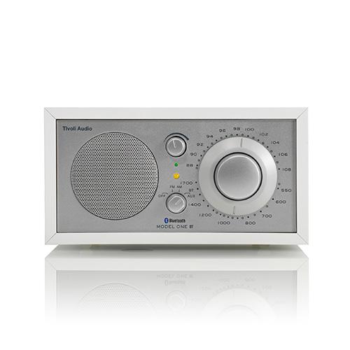 【ポイント5倍!】Tivoli Audio(チボリ・オーディオ)「Model One BT 」ホワイト/シルバー