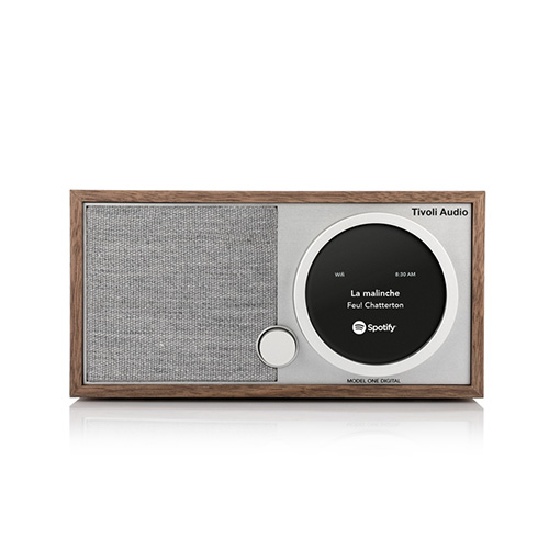 【最大1000円OFFクーポン|マラソン最大33倍 04/16(火) 01:59まで】Tivoli Audio(チボリ・オーディオ)「Model One Digital 」ウォールナット/グレー