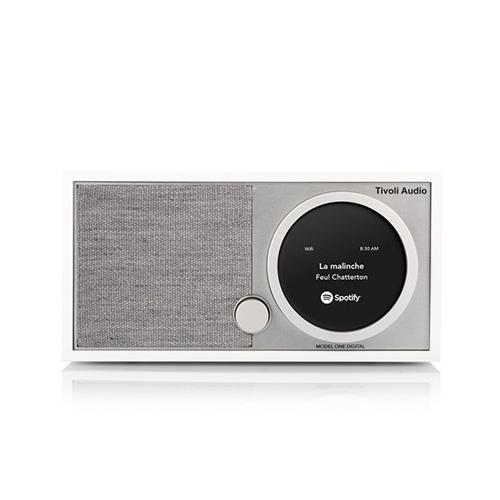 【最大1000円OFFクーポン|マラソン最大33倍 04/16(火) 01:59まで】Tivoli Audio(チボリ・オーディオ)「Model One Digital 」ホワイト/グレー