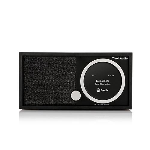 【最大1000円OFFクーポン|マラソン最大33倍 04/16(火) 01:59まで】Tivoli Audio(チボリ・オーディオ)「Model One Digital 」ブラック/ブラック