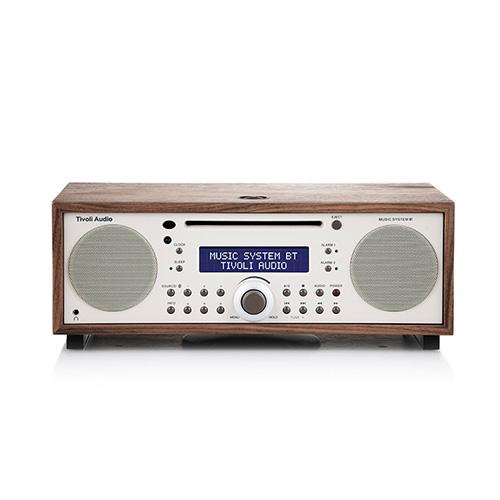【ポイント5倍!】Tivoli Audio(チボリ・オーディオ)「Music System BT 」クラッシック・ウォールナット/ベージュ