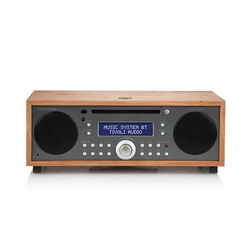 【最大1000円OFFクーポン|マラソン最大33倍 04/16(火) 01:59まで】Tivoli Audio(チボリ・オーディオ)「Music System BT 」チェリー/トープ
