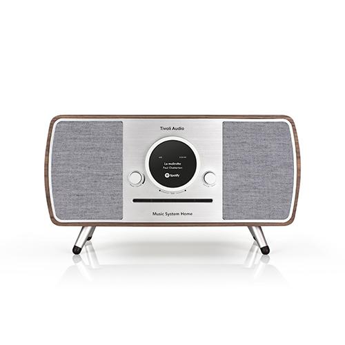 【ポイント5倍!】Tivoli Audio/チボリ・オーディオ スピーカー ARTシリーズ Music System HOME ウォルナット/グレー