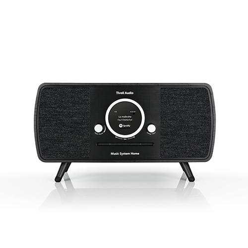 【ポイント5倍!】Tivoli Audio/チボリ・オーディオ スピーカー ARTシリーズ Music System HOME ブラック/ブラック