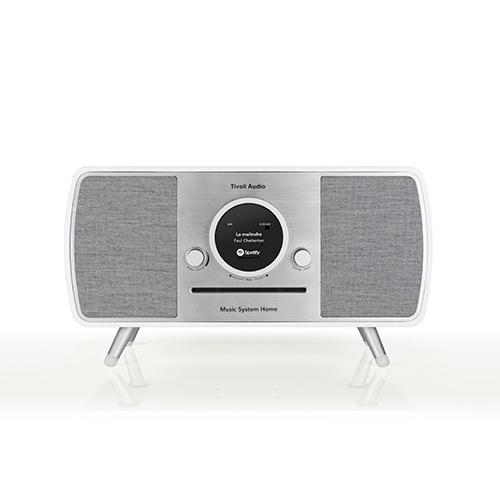 【ポイント5倍!】Tivoli Audio/チボリ・オーディオ スピーカー ARTシリーズ Music System HOME ホワイト/グレー