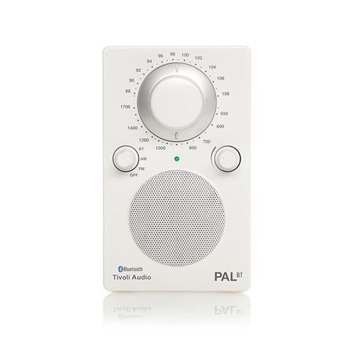 【ポイント5倍!】Tivoli Audio(チボリ・オーディオ)「PAL BT 」ホワイト/ホワイト