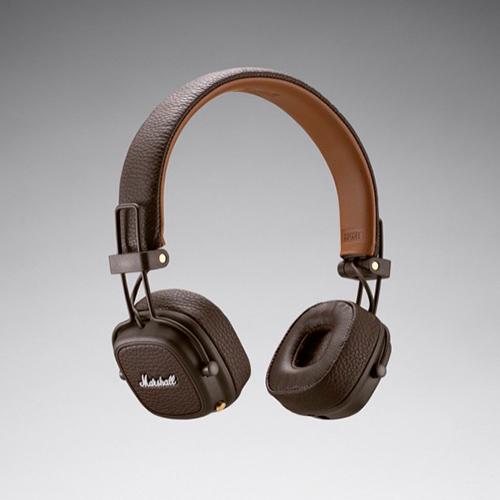 【ポイント5倍!】Marshall(マーシャル)ヘッドホン「Major III Bluetooth 」ブラウン