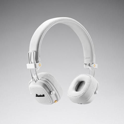 【ポイント5倍!】Marshall(マーシャル)ヘッドホン「Major III Bluetooth 」ホワイト