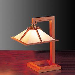 【楽天スーパーセール開催中!ポイント最大34倍|03/11 01:59まで】Frank Lloyd Wright(フランクロイドライト)テーブル照明 TALIESIN 1 MINI(タリアセン1 ミニ) チェリー