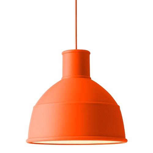 【お買い物マラソンで最大ポイント32倍!8/9(木)1:59まで】MUUTO(ムート)「UNFOLD PENDANT LAMP」オレンジ(ランプ別)