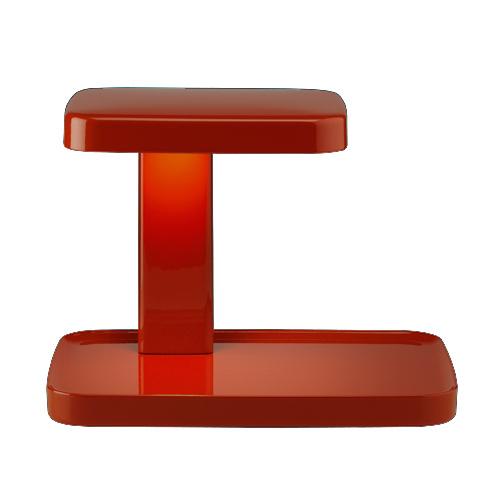 【お買い物マラソンで最大ポイント32倍!8/4(土)20時~】FLOS (フロス) テーブルスタンド照明「PIANI (ピアーニ)」 レッド