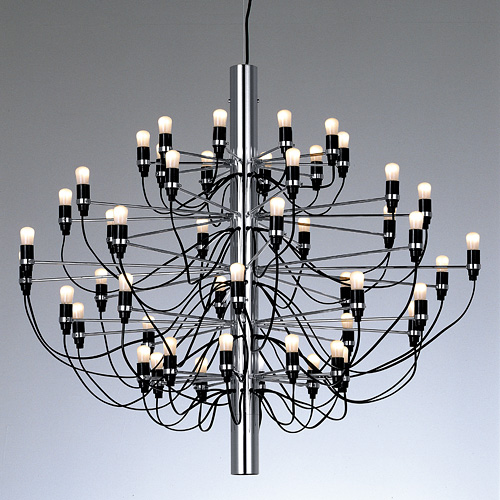 "FLOSS ( FLOS ) chandelier lighting MOD.2097/50 ""chrome"