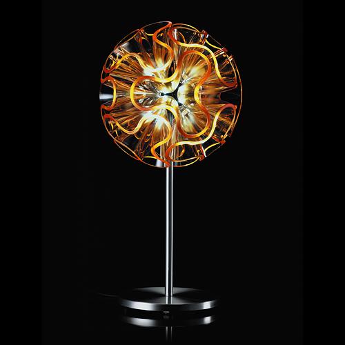 【最大1000円OFFクーポン|マラソン最大33倍 04/16(火) 01:59まで】QisDesign(キスデザイン)「Coral 45(コーラル)Table」オレンジ