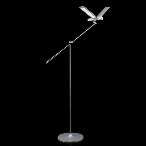 【500円OFFクーポンあり!】QisDesign(キスデザイン)フロアー照明 「Seagull(シーガル)」シルバー