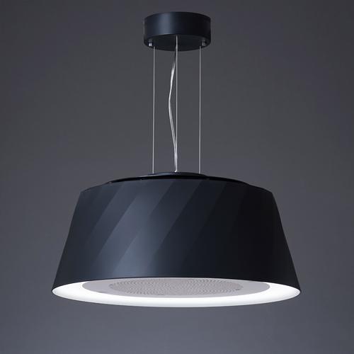 cookiray (クーキレイ)空気清浄器付きペンダント照明 「C-BE511-BK」ブラック