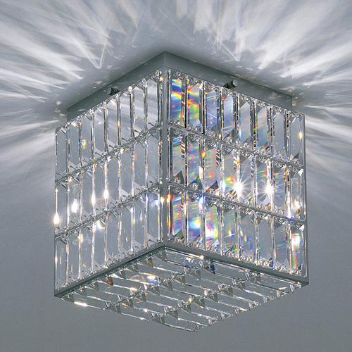 【お買い物マラソンで最大ポイント32倍!8/4(土)20時~】yamagiwa(ヤマギワ) 照明器具 シーリングライト照明「CRYSTAL CUBE (クリスタルキューブ)」 G1513N【要電気工事】
