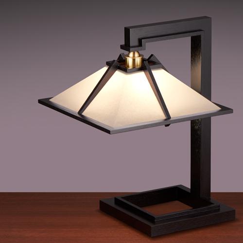 【ポイント10倍!】Frank Lloyd Wright(フランクロイドライト) テーブルスタンド照明TALIESIN 1 (タリアセン1) ブラック