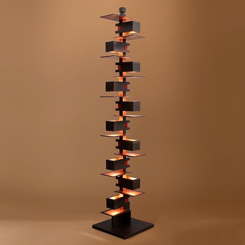 【限定クーポン!最大1000円OFF】【ポイント10倍!】Frank Lloyd Wright(フランクロイドライト)フロア照明 TALIESIN 2(タリアセン2) ウォルナット