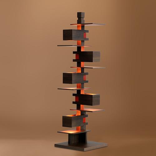 【お買い物マラソン開催中!最大1000円OFFクーポン!ポイント最大33倍|4/28 01:59まで】Frank Lloyd Wright(フランクロイドライト)テーブル照明 TALIESIN 3(タリアセン3) ウォルナット