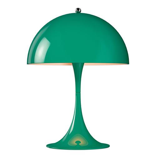 【ポイント10倍!】louis poulsen(ルイスポールセン) テーブルスタンド照明「Panthella (パンテラ・ミニ)Table mini」ブルーグリーン