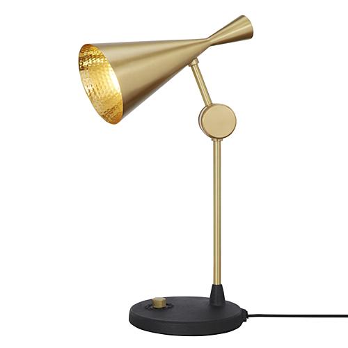 【お買い物マラソン開催中!最大1000円OFFクーポン!ポイント最大24倍|4/28 01:59まで】TOM DIXON(トム・ディクソン)「BEAT TABLE LIGHT(ビート テーブルライト)」ゴールド