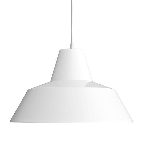 【限定クーポン!最大1000円OFF】MADE BY HAND(メイド・バイ・ハンド)「The work shop lamp EXTRA LARGE」エクストララージ / ホワイト(ランプ別)