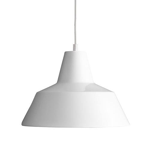 【お買い物マラソンで最大ポイント32倍!8/9(木)1:59まで】MADE BY HAND(メイド・バイ・ハンド)「The work shop lamp LARGE」ラージ / ホワイト(ランプ別)