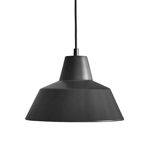 【お買い物マラソンで最大ポイント32倍!8/4(土)20時~】MADE BY HAND(メイド・バイ・ハンド)「The work shop lamp MEDIUM」ミディアム / ブラック(ランプ別)