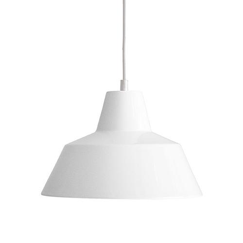 MADE BY HAND(メイド・バイ・ハンド)「The work shop lamp MEDIUM」ミディアム / ホワイト(ランプ別)