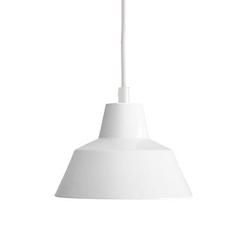 【お買い物マラソンで最大ポイント32倍!8/4(土)20時~】MADE BY HAND(メイド・バイ・ハンド)「The work shop lamp SMALL」スモール / ホワイト(ランプ別)