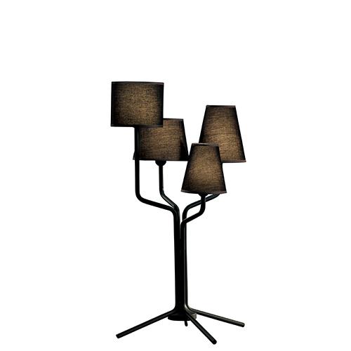 【500円OFFクーポンあり!】almerich(アルメリッチ) テーブル照明 TRIA TABLE ブラック 受注品