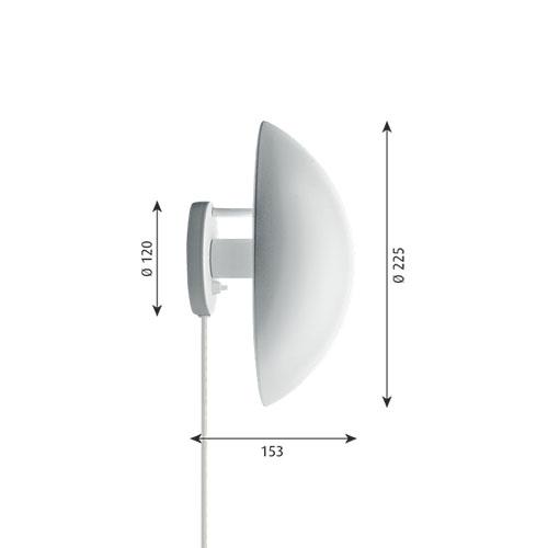【ポイント10倍!】louis poulsen(ルイスポールセン)「PH Hat」ホワイト【要電気工事】