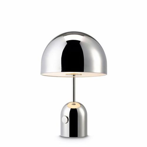 【入荷未定】TOM DIXON(トム・ディクソン)「BELL TABLE(ベル)」クローム【ランプ別】