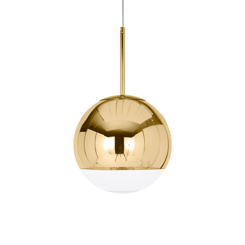 TOM DIXON(トム・ディクソン)「MIRROR BALL PENDANT 25(ミラーボール)」ゴールド【ランプ別】【専用ランプ】