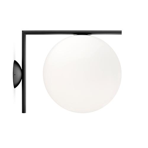 【ポイント10倍!】FLOS(フロス)ブラケット照明 IC LIGHTS C/W2 ブラック