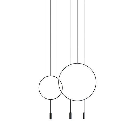 【限定クーポン!最大1000円OFF】Estiluz(エスティルース)ペンダント照明 REVOLTA L73.1S1D ブラック(受注品)