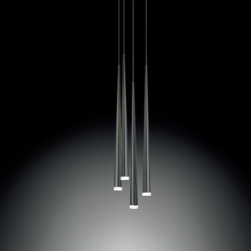 【限定クーポン!最大1000円OFF】VIBIA(ヴィビア)ペンダント照明 SLIM 0915 ブラック(受注品)