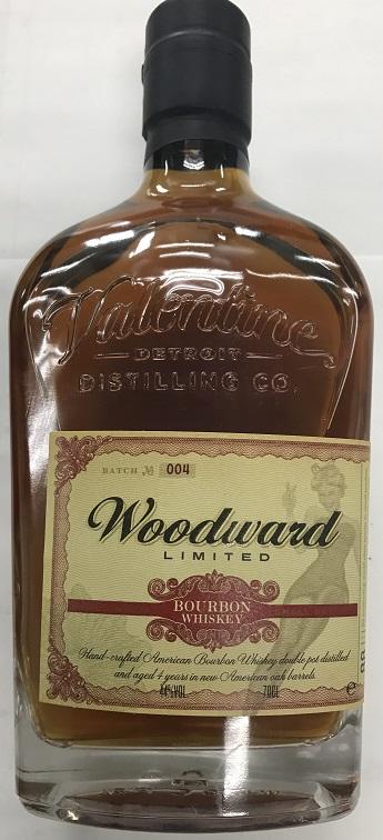 バーボン。 ウッドワード バーボン 700ml 44% 20200316