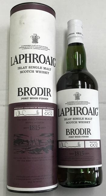 ラフロイグ ブロディア ポート ウッド フィニッシュ 700ml 48% BRODIR 20191229