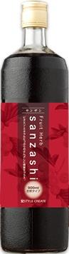 フルーツハーブ サンザシ き釈タイプ 900ml スタイルクリエイト (Fruit Herb Sanzashi) さんざし6本SET